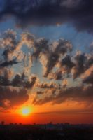 HDR sunset by silverwing-sparrow