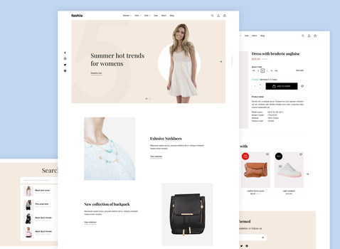 Preview of Fashion eshop by jozef89