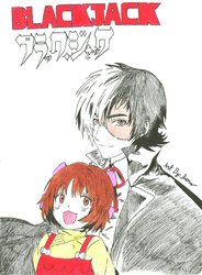 Black Jack and Pinoko by PersonaUserRaven