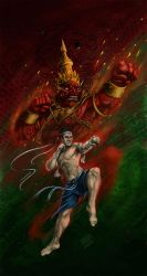 Muay-thai by InsaneInfernO