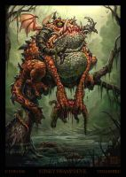 Stinky Swamp Devil by VegasMike