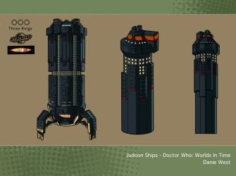 Doctor Who, Worlds in Time - Judoon Ships by westernphilosopher