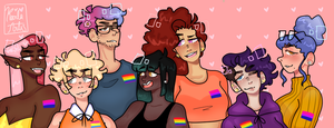 Happy Pride Month! by KarlaArts