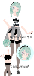 Young Tumblr Miku | Downloads by DamnDanieloise