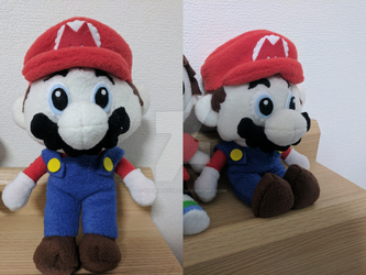 Mario Plush by ultimatecheez