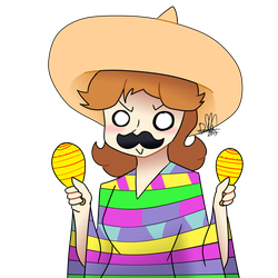 ~Daisy Week Day 1: Mexican Daisy~ by TokieTheDeadGuy