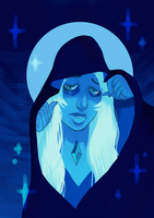 Blue Diamond (Animated) by galaxytxt