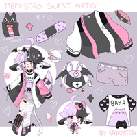 Guest Artist Medi-borg 9 | CLOSED by SparksTea