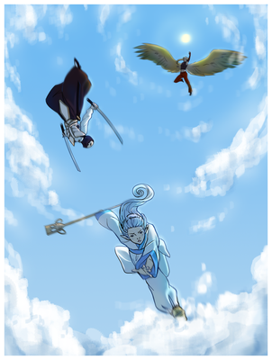Sky Dive by CloudyKasumi