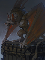 Gargoyle by Amenlona