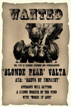 WANTED: 'Blonde Bear' Valya by Y-Yorle