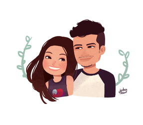 Bia and Matheus by jubalew
