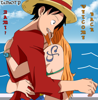 Welcome Back - LuffyxNami by LuNaOTP