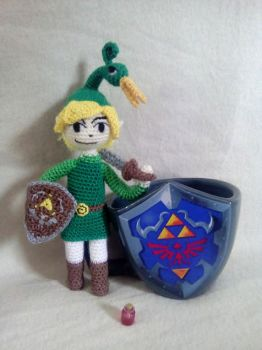 Link / The minish cap by suffhie