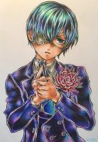 Ciel Phantomhive [Volume 18 Cover] by Highway3