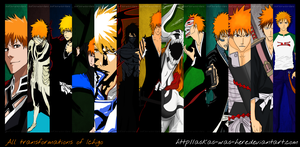 All transformations of Ichigo by askas-was-here
