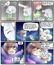 Undertale: STARS page 8 by ScruffyPoop
