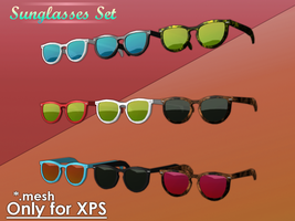 Sunglasses Set for XPS by Gragra96