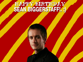 Happy Birthday Sean Biggerstaff! by Nolan2001