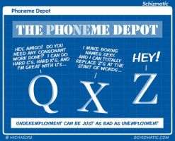 Phoneme Depot by schizmatic
