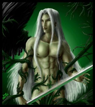 Sephiroth-release me-cencored by Destinyfall