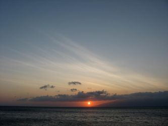 Hawaii Sunset, 2012 by Delmne