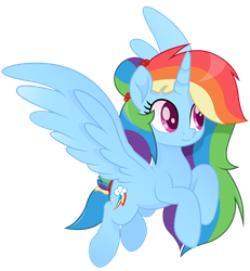 Princess Rainbow Dash vector moviestyle by JoeMasterPencil
