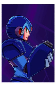 MegaMan X by PumaDriftCat