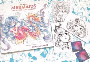 Pop Manga Mermaids Book by camilladerrico