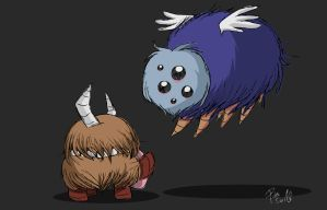Don't Starve -  Chester and Gloomer by Poka-SorM