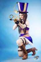 Caitlyn Cosplay - League of Legends by ddenizozkan