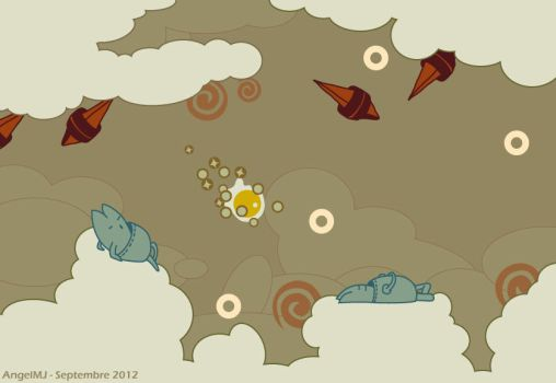 Sound Shapes - Spirale Starcaise by AngelMJ