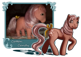MLP Collection: #1 Cotton Candy by LadyRosse