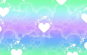 Pastel Heart Background by Magical-Mama