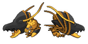 Clawitzer Shiny Recolor #3 (Front/Back)