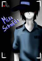 Five nights at Freddy's Mike Schmidt by Shon-Blekster