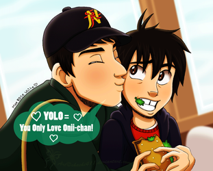 The new YOLO ~ behindinfinity by chachi411