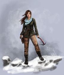 Rise of the Tomb Raider by Pencilsketches