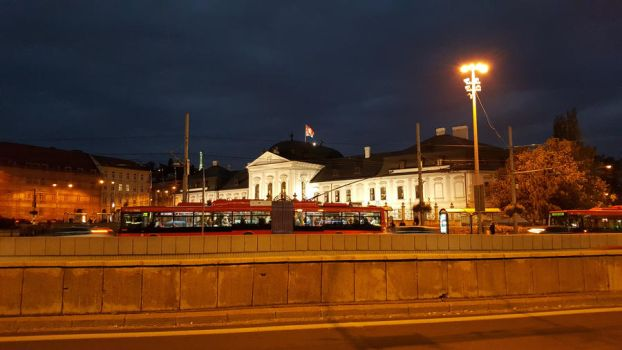 In front of presidential palace, Bratislava by 15miki15