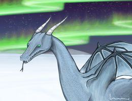 Ice Dragon 2 by Louisetheanimator