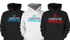 Order 66 - Hoodies by GregoryFey88