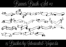 Banner Brush Set #2 by intoxicatedvogue