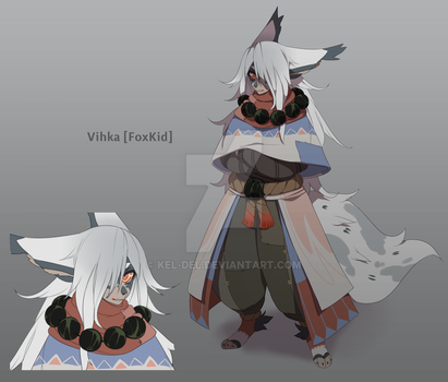 Vihka 'FoxKid' Adopt Auction [24 HOURS] SOLD by Kel-Del