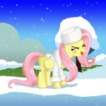 winter fluttershy by chacrawarrior