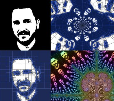 Wil Wheaton Fractal Variations by bryceguy72