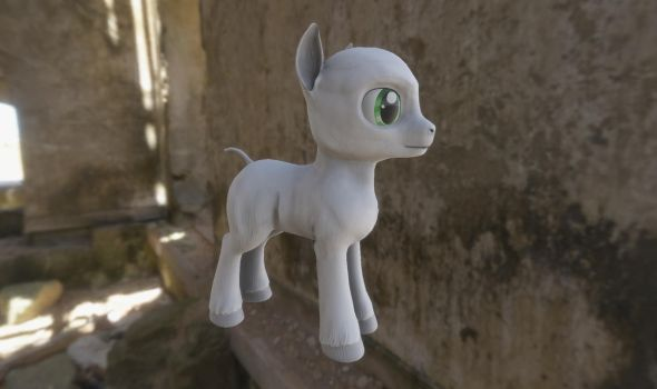 FO:E Male Pony by Poninnahka