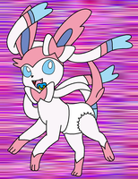 Sylveon in Diapers by Baby-Days (Digital) by DanielMania123