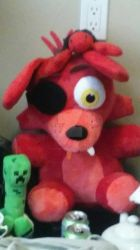 My Foxy Plushie by PlayboyVampire