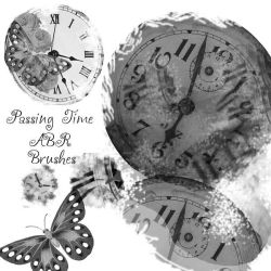 PassingTime PS Brushes by Lorene-DD