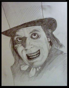 Lon Chaney - Sketch by mikegee777